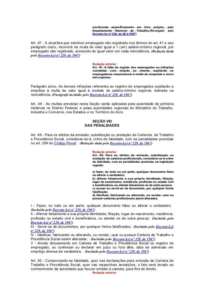 Artigo 47 clt