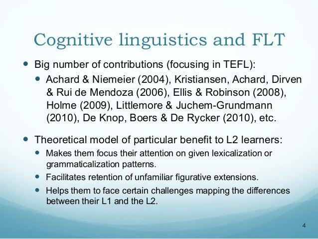 cognitive linguistics books