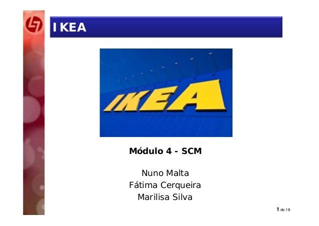 O CASO IKEA - Lean SCM PG XIV Edi