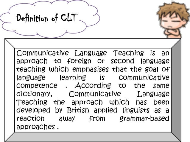 Communicative Competence As The Aim Of Foreign Language Learning