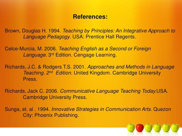 communicative approach in english teaching