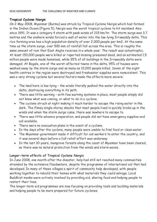 cyclone nargis case study ppt