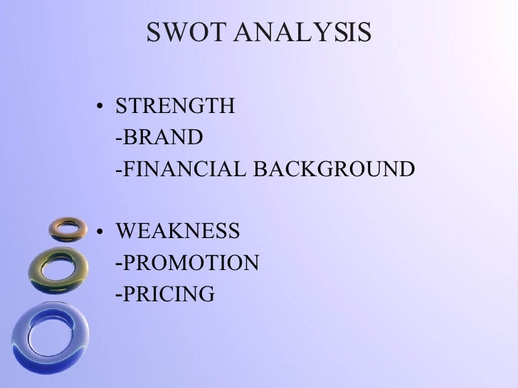 kuoni group swot analysis Visualizza il profilo di riccardo de natale su linkedin,  • responsible for in detail sales analysis and forecast by store  kuoni group agosto 2013.