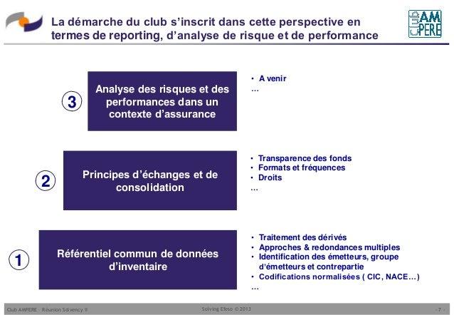 Club ampere pr sentation de la normalisation des - Bureau commun des assurances collectives ...