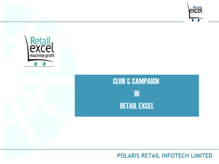 CLUB & CAMPAIGN  IN RETAIL EXCEL