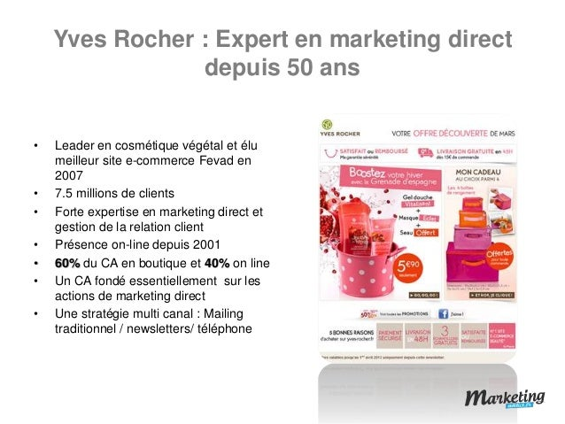 yves rocher mkt mix Oboolocom search and publish your papers our guarantee we guarantee quality find out more login new user yves rocher, a french company is one of the best and my favourite companies.