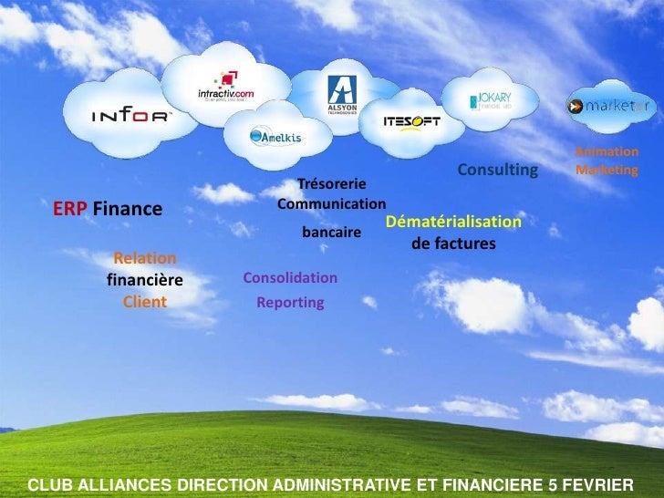 Animation                                                  Consulting   Marketing                             Trésorerie  ...