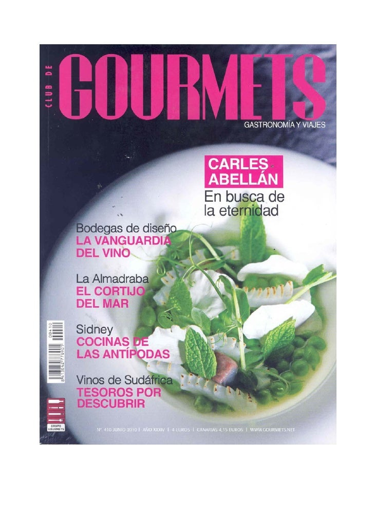 Club de Gourmets junio 2010