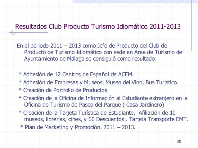 Spanish language industry association malaga club for Oficina emt malaga