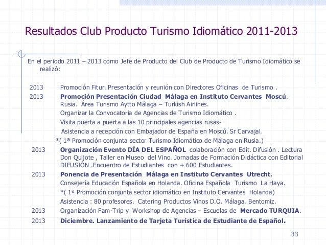 Spanish language industry association malaga club for Oficina turismo turquia