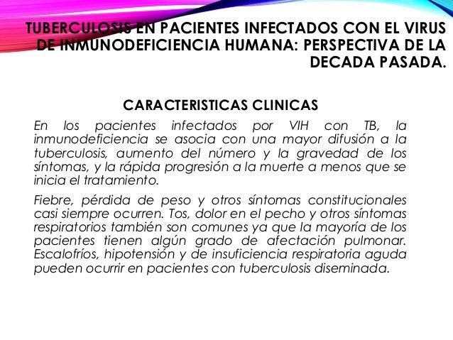 Caso cl nico tbc vih - Liquido preseminal vih casos ...