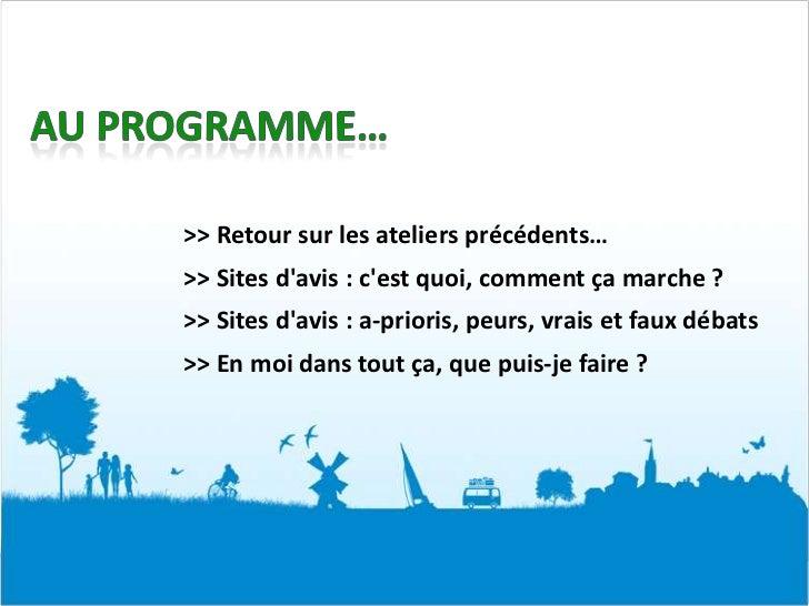 Les sites d'avis au service de la valorisation de mon entreprise touristique / Club E-Tourisme Médoc Slide 2