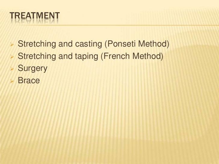 TAPING / FRENCH METHOD
