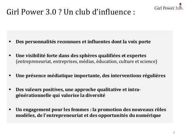 Girl Power 3.0, club des femmes du numérique, entrepreneuses, innovatrices et créatrices  Slide 3
