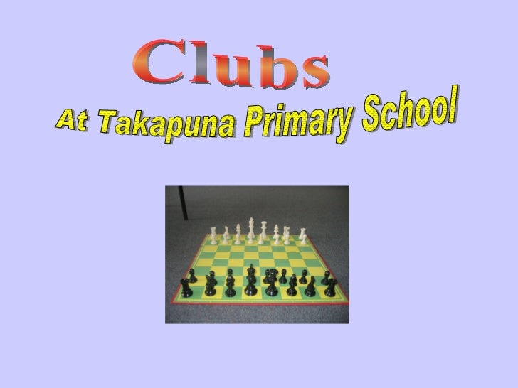 Clubs At Takapuna Primary School