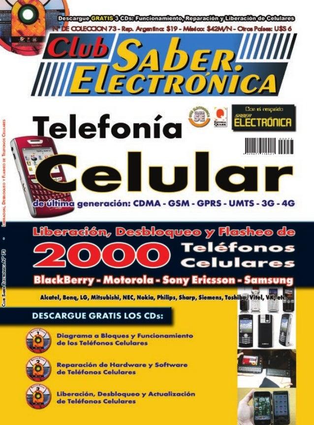 Club saber electrónica teléfono celular de última generación