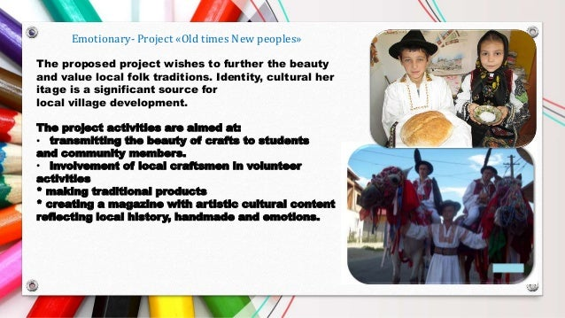 Magazine Old time,new people-product project Erasmus+