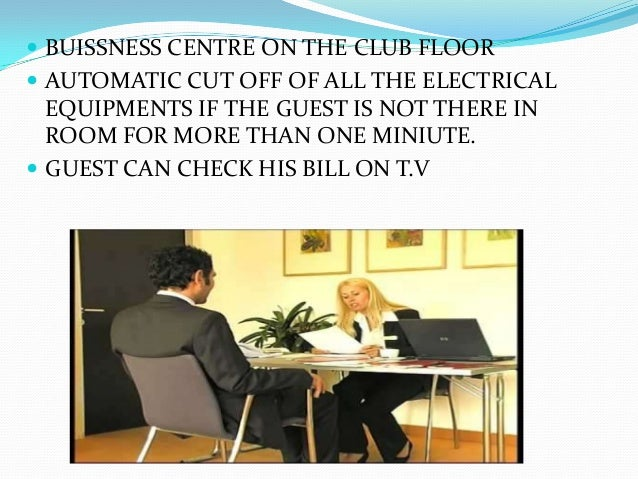 Room Service In Hotels Ppt