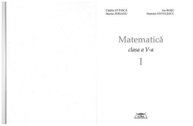 Clubul matematcienilor v 1 p01