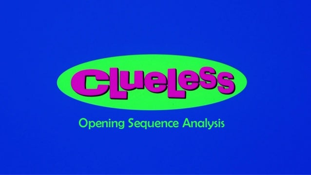 analysis of the opening sequence of clueless Secrets behind 'game of thrones' opening credits (video) - an interview with the creators of the title sequence 1:24 pm 4/19/2011 by tim appelo at hollywoodreportercom references ↑ [1.