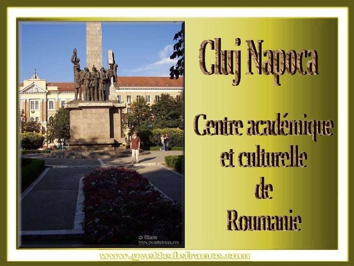 Centre académique et culturelle de Roumanie Cluj Napoca
