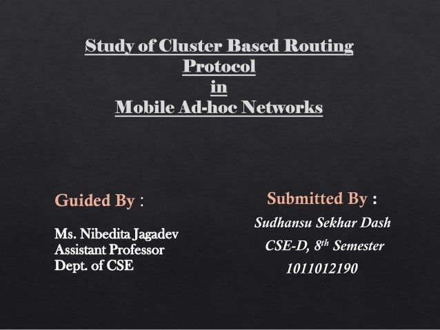 an unequal cluster based routing protocol in Pose an unequal cluster-based routing (ucr) protocol it groups the nodes into  clusters of unequal sizes cluster heads closer to the base.