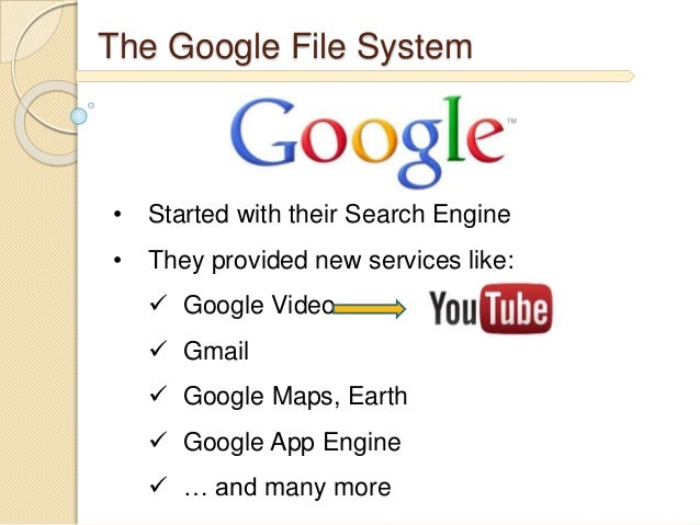 google files systems Although google drive and onedrive for business are both perceived to be user- driven storage systems, they are fundamentally different files in google drive.