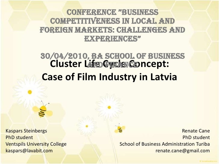 """Conference """"Business competitiveness in local and foreign markets:                           challenges and experiences""""  ..."""