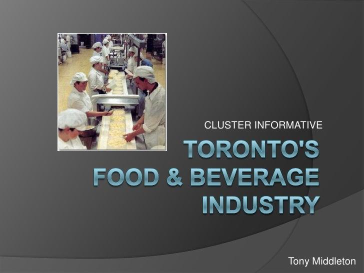CLUSTER INFORMATIVE                  Tony Middleton