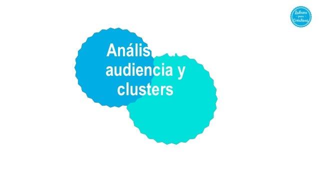 Análisis de audiencia y clusters
