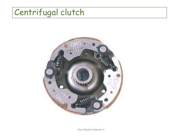 Centrifugal Clutch Tractor : Clutch