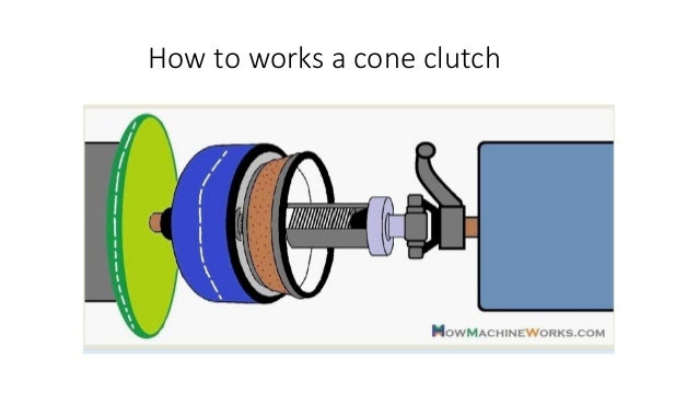 Centrifugal clutch  The centrifugal clutch uses centrifugal force, instead of spring force for keeping it in engaged posi...