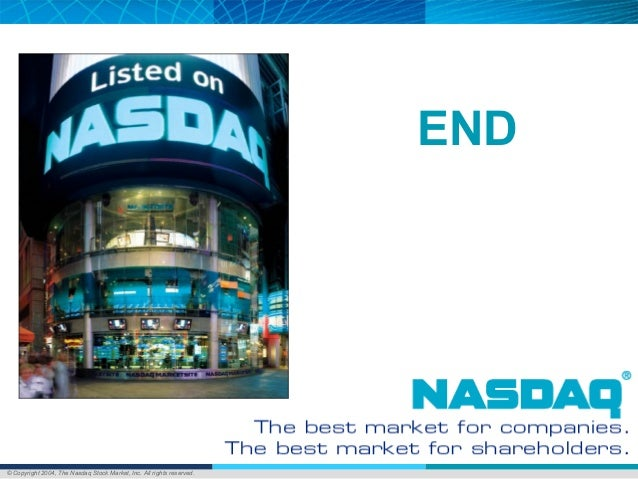 © Copyright 2004, The Nasdaq Stock Market, Inc. All rights reserved. END