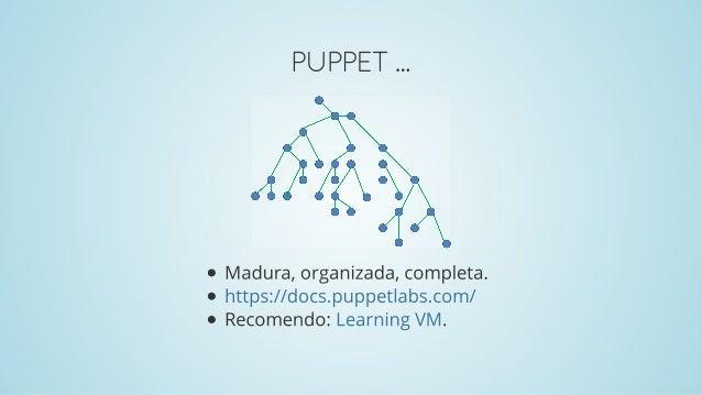 Puppet, Ansible, Salt: Maturidade, Simplicidade e Flexibilidade