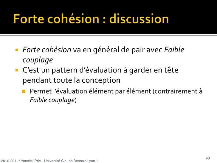 adaptation, réutilisation</li></ul>2010-2011 / Yannick Prié - Université Claude Bernard Lyon 1   <br />9<br />