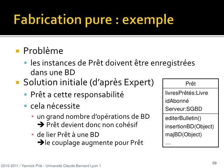 9 patterns GRASP<br />Expert en information<br />Créateur<br />Faible couplage<br />Forte cohésion<br />Contrôleur<br />Po...