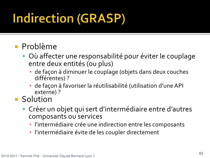 Expert : exemple<br />0..*<br />emprunte<br />2010-2011 / Yannick Prié - Université Claude Bernard Lyon 1   <br />18<br />