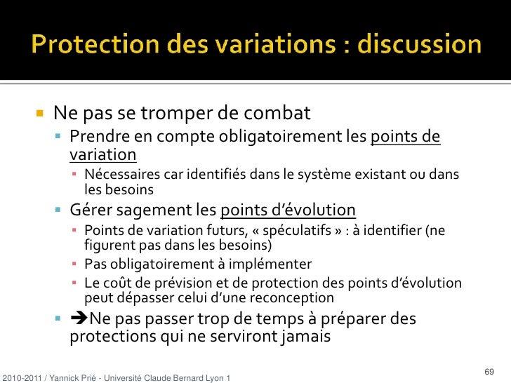 responsabilités correspondantes</li></ul>2010-2011 / Yannick Prié - Université Claude Bernard Lyon 1   <br />19<br />