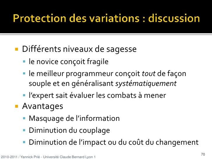 Expert : exemple (suite) <br />contient<br />0..*<br />concerne<br />2010-2011 / Yannick Prié - Université Claude Bernard ...