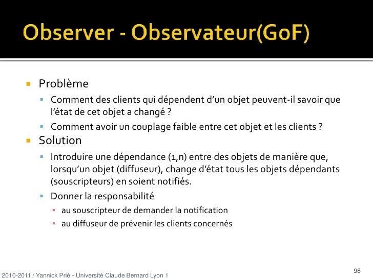 ie. B est un Expert en ce qui concerne la création de A</li></ul>2010-2011 / Yannick Prié - Université Claude Bernard Lyon...