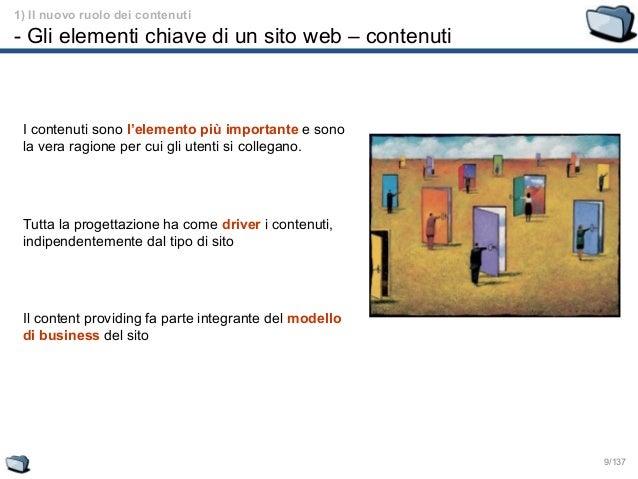 Content management 1 gli elementi chiave di un sito web for Sito web di progettazione edilizia