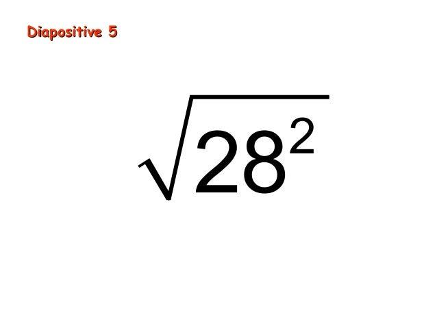 Diapositive 5                28                 2