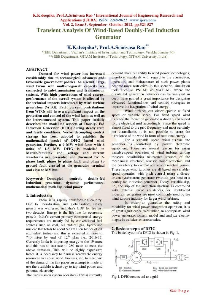 K.K.deepika, Prof.A.Srinivasa Rao / International Journal of Engineering Research and                   Applications (IJER...