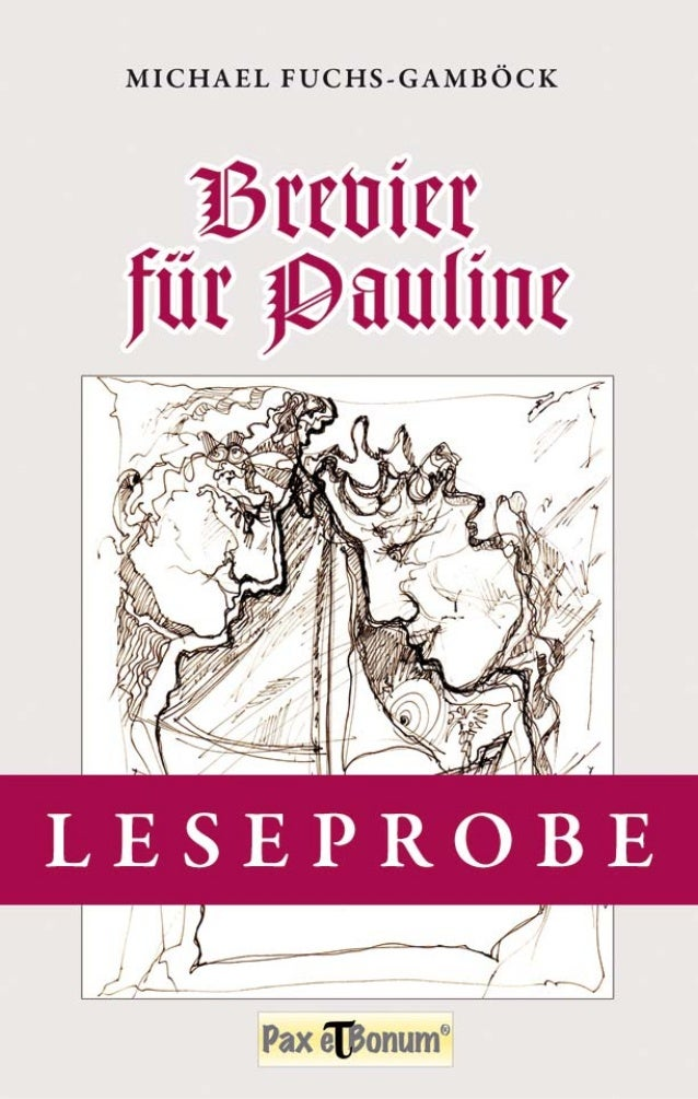 Michael Fuchs-Gamböck Brevier für Pauline