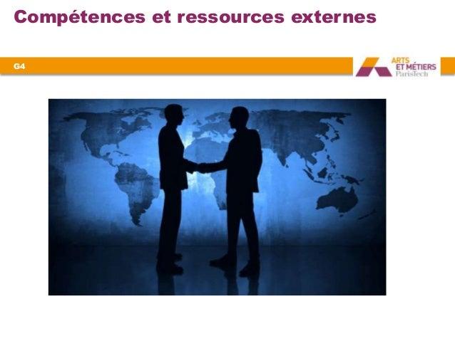 Compétences et ressources externesG4