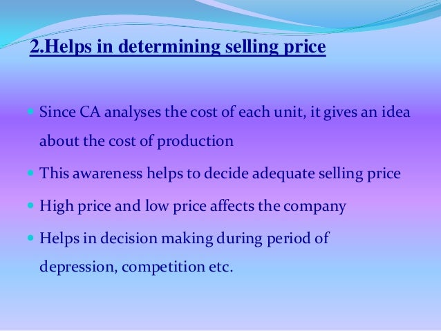 importance of cost accounting pdf