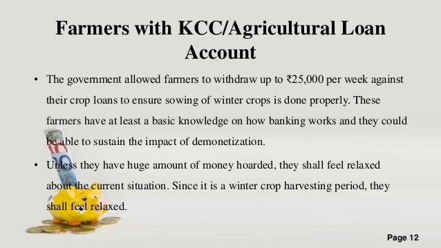the impact of the agricultural sector Role of banks in agricultural lending - india 20 pages posted: 5 oct 2009 sri  which in turn is going to have big impact on the agricultural sector itself.