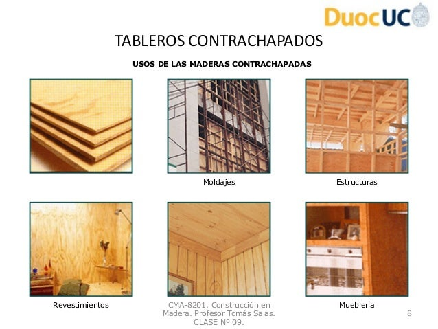 Construccion en madera clase n 09 for Construccion en madera