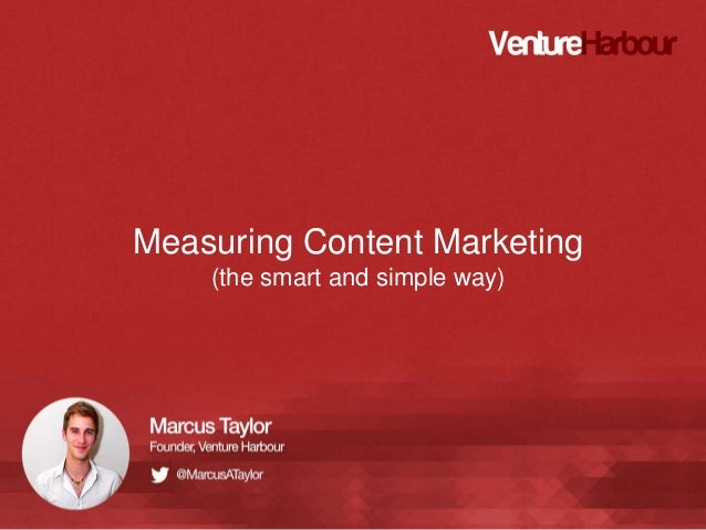 Measuring Content Marketing (the smart and simple way)
