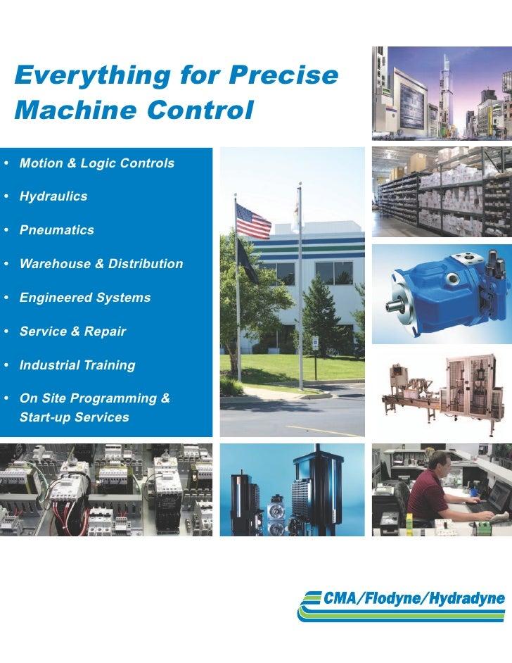Everything for Precise Machine Control• Motion&LogicControls• Hydraulics• Pneumatics• Warehouse&Distribution• En...